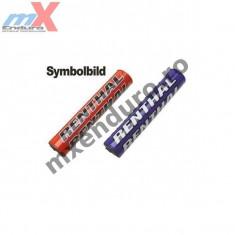 Protectie ghidon Renthal Chrome Super X 22mm culoare albastru - Protectie ghidon Moto