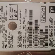 Hard disk notebook HGST Travelstar 5K1000, 1TB, SATA-III, 5400 RPM, cache 8MB - HDD laptop