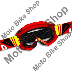 Ochelari motocross Ufo Bullet, rosu,
