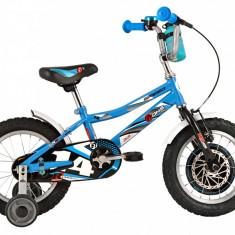 Bicicleta Copii DHS Speed 1401 (2016) Culoare Albastru