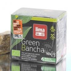 Ceai verde japonez Bancha bio la pliculete 15g - Ceai naturist