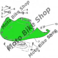 Carena fata inferioara Piaggio Hexagon GTX 125, gri, - Carene moto
