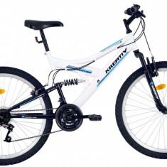 Bicicleta Kreativ 2641 (2017) Cadru 457mm Alb - Mountain Bike, 18 inch
