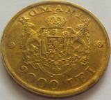 Moneda 2000 Lei - ROMANIA, anul 1946 *cod 4743 patina+luciu de batere