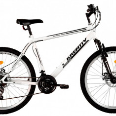 Bicicleta Kreativ 2605 (2017) Cadru 500mm Alb - Mountain Bike