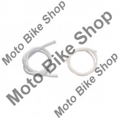 Furtun PVC transparent pentru carburator, D. 2mm, L=1m, - Furtun benzina Moto