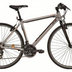Bicicleta DHS Contura 2863 (2016) Culoare Gri 530mm - Bicicleta Cross, 21 inch
