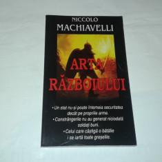 NICCOLO MACHIAVELLI - ARTA RAZBOIULUI - Istorie