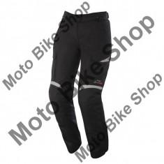 Pantaloni impermeabili fete Alpinestars WP Bogota Drystar, negru-gri inchis, XL, - Imbracaminte moto