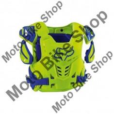 Fox Brustpanzer Raptor Vest Ce, Yellow/Blue, L/Xl, P:16/132, - Armura moto
