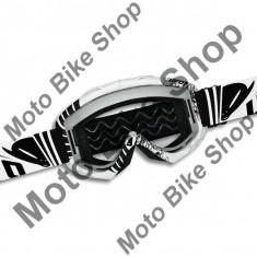 Ochelari motocross Ufo Bullet, alb,