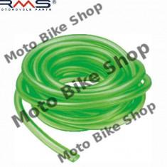 Furtun benzina 4x7 ciclomotor verde (rola 5 metri, pret pe 1m), - Furtun benzina Moto