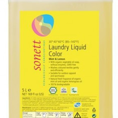 Detergent ecologic lichid pt. rufe colorate 5L Sonett - Dormitor complet