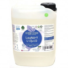 Detergent ecologic lichid pentru rufe albe si colorate lamaie 5L - Bufet