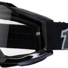 Ochelari cross/enduro 100% Black lentila clara - Ochelari moto
