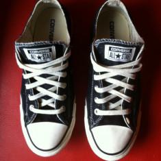 Converse All Star originali, low top, nr.40-25, 5 cm. - Tenisi dama Converse, Culoare: Negru, Textil