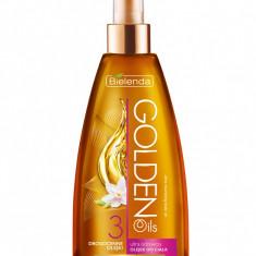 Ulei de corp ultra nutritiv cu ulei de Argan, Perilla, Abisinian 150ml Golden Oils - Sifonier
