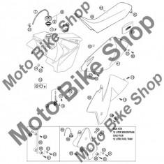 Garnitura buson rezervor KTM 125 EXC 2002 #9, - Furtun benzina Moto