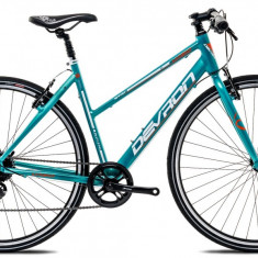 "Bicicleta Devron Urbio LU1.8 S – 495/19.5"", Electric Blue - Bicicleta Cross, 20 inch"