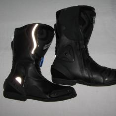 Cizme moto RKSPORT, culoare negre