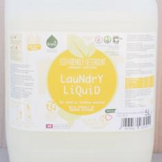 Detergent ecologic lichid pentru rufe albe si colorate portocale 5L - Bufet
