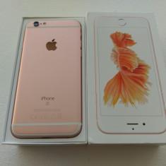 Iphone 6S 128GB Rose Gold IMPECABIL ! - Telefon iPhone Apple, Roz, Neblocat