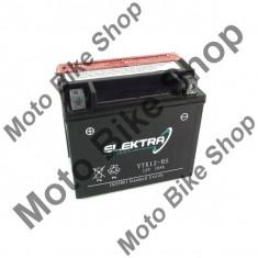 Baterie moto + electrolit 12V12Ah YTX12-BS,