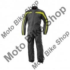 Combinezon ploie, galben neon/negru, XL, - Stikere Moto