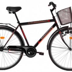 Bicicleta Kreativ 2811 (2017) Cadru 520mm Negru - Bicicleta de oras
