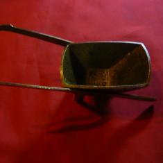 Miniatura veche  - Roaba ,bronz , L= 15,5 cm