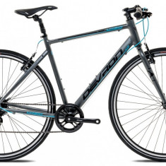 """Bicicleta Devron Urbio U1.8 M – 533/21"""", Ash Grey - Bicicleta Cross"""