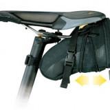 Geanta-borseta tija-sa Topeak volum 1.3L, compartiment extensibil - Accesoriu Bicicleta