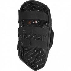 Protectii genunchi Icon Cloverleaf, negre - Protectii moto