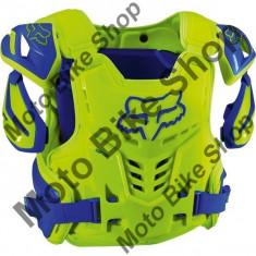 Fox Brustpanzer Raptor Vest Ce, Yellow/Blue, S/M, P:16/132, - Armura moto