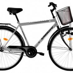 Bicicleta Kreativ 2811 (2017) Cadru 520mm Gri - Bicicleta de oras
