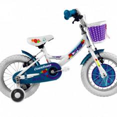 Bicicleta Copii DHS Countess 1404 (2016) Culoare Alb