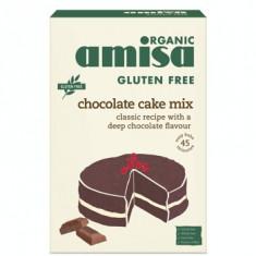 Mix pentru tort cu ciocolata fara gluten bio 400g - Bufet
