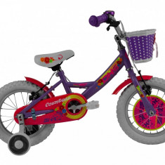 Bicicleta Copii DHS Countess 1404 (2016) Culoare Violet
