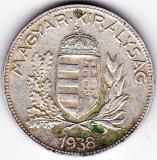 Ungaria 1 PENGO 1938 argint 5 gr, Europa