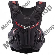 LEATT BRUSTPANZER 3DF AIRFIT, schwarz-rot, S-XL=70-90 kg, 17/105, - Armura moto