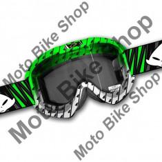 Ochelari motocross Ufo Fusion Evolution, verde,