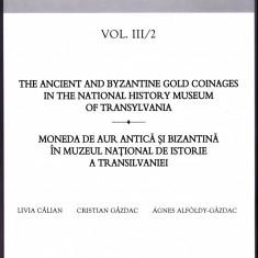 3.Carte:Moneda de aur antica si bizantina in Muzeul de Istorie a Transilvaniei