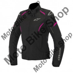 Geaca Impermeabila Fete Alpinestars Wp Gunner Black, negru-Fucsia, L, - Imbracaminte moto