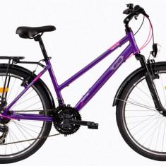 Bicicleta DHS Travel 2656 (2017) Violet, 430mm - Bicicleta de oras