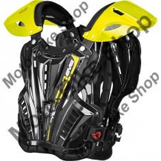 EVS BRUSTPANZER VEX HIGH VIZ, black-yellow hi viz, L=65-87 kg, 17/034, - Armura moto