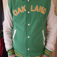 Geaca Baseball Official Mlb Oakland ATHLETICS XL - Echipament baseball