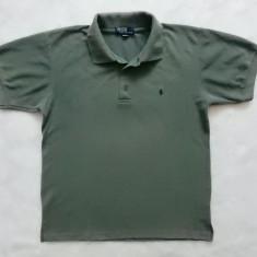 Tricou Polo by Ralph Lauren Made in USA; marime L, vezi dimensiuni exacte - Tricou barbati, Marime: L, Culoare: Din imagine, Maneca scurta