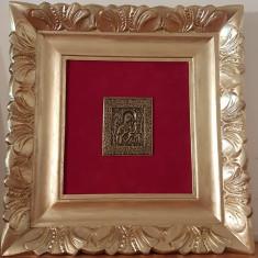 Foarte veche icoana in Bronz - Icoana din metal