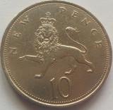 Moneda 10 New Pence - ANGLIA, anul 1969 *cod 4796  -11,18 grame!