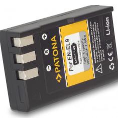 PATONA | Acumulator compatibil Nikon EN EL9 ENEL9 EN-EL9 e ENEL9e - Incarcator Aparat Foto